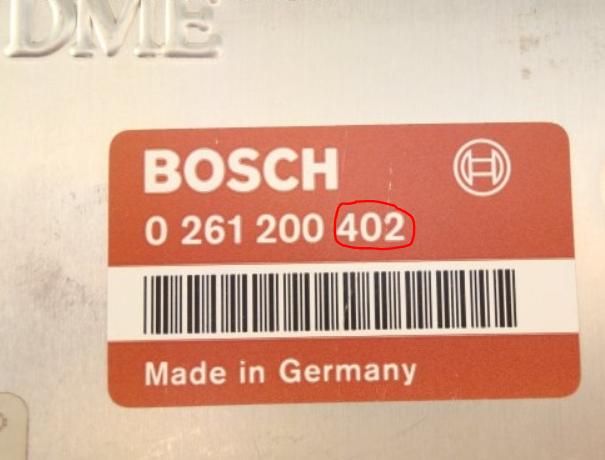 Bosch, Motronic, DME